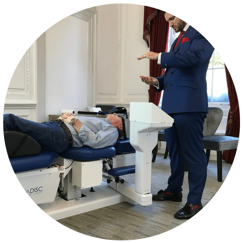 treatment for back pain osteopath london